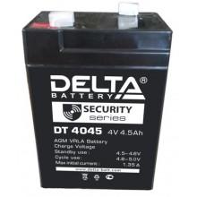 Аккумулятор герметичный свинцово-кислотный Delta DT 4045 (47мм)