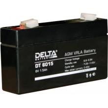 Аккумулятор герметичный свинцово-кислотный Delta DT 6015