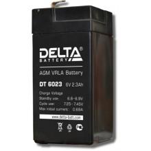 Аккумулятор герметичный свинцово-кислотный Delta DT 6023