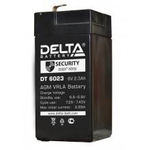 Аккумулятор герметичный свинцово-кислотный Delta DT 6023 (75)
