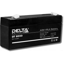Аккумулятор герметичный свинцово-кислотный Delta DT 6033