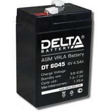 Аккумулятор герметичный свинцово-кислотный Delta DT 6045
