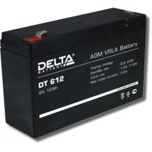 Аккумулятор герметичный свинцово-кислотный Delta DT 612