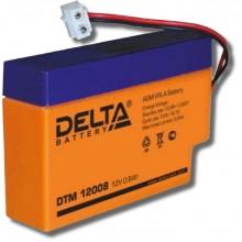 Аккумулятор герметичный свинцово-кислотный Delta DTM 12008