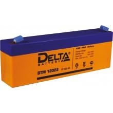 Аккумулятор герметичный свинцово-кислотный Delta DTM 12022