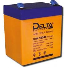 Аккумулятор герметичный свинцово-кислотный Delta DTM 12045