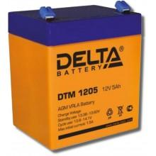 Аккумулятор герметичный свинцово-кислотный Delta DTM 1205
