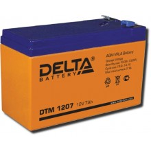 Аккумулятор герметичный свинцово-кислотный Delta DTM 1207