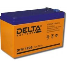 Аккумулятор герметичный свинцово-кислотный Delta DTM 1209