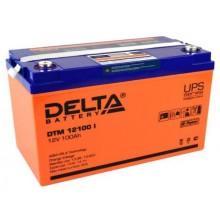 Аккумулятор герметичный свинцово-кислотный Delta DTM 12100 I