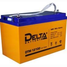 Аккумулятор герметичный свинцово-кислотный Delta DTM 12100 L