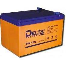 Аккумулятор герметичный свинцово-кислотный Delta DTM 1212