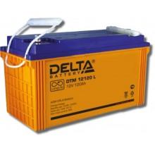 Аккумулятор герметичный свинцово-кислотный Delta DTM 12120 L