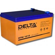 Аккумулятор герметичный свинцово-кислотный Delta DTM 1215