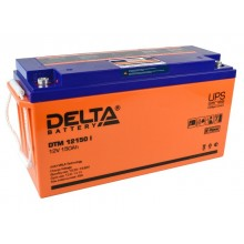 Аккумулятор герметичный свинцово-кислотный Delta DTM 12150 I