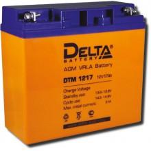 Аккумулятор герметичный свинцово-кислотный Delta DTM 1217