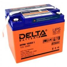 Аккумулятор герметичный свинцово-кислотный Delta DTM 1233 I