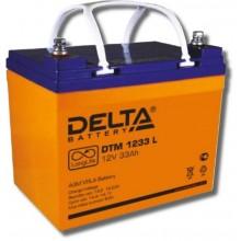Аккумулятор герметичный свинцово-кислотный Delta DTM 1233 L