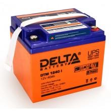 Аккумулятор герметичный свинцово-кислотный Delta DTM 1240 I