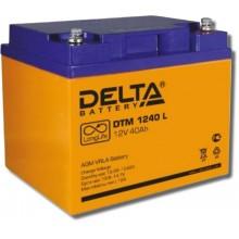 Аккумулятор герметичный свинцово-кислотный Delta DTM 1240 L