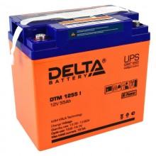 Аккумулятор герметичный свинцово-кислотный Delta DTM 1255 I