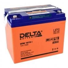 Аккумулятор герметичный свинцово-кислотный Delta DTM 1275 I
