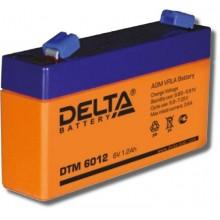 Аккумулятор герметичный свинцово-кислотный Delta DTM 6012