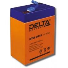 Аккумулятор герметичный свинцово-кислотный Delta DTM 6045