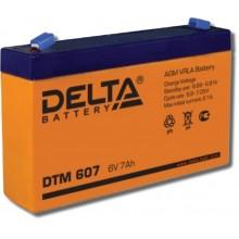 Аккумулятор герметичный свинцово-кислотный Delta DTM 607