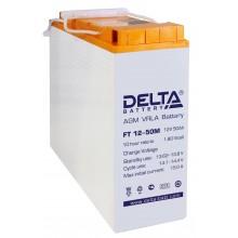 Аккумулятор герметичный свинцово-кислотный Delta FT 12-50 M