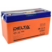 Аккумулятор герметичный свинцово-кислотный Delta GEL 12-120