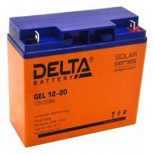 Аккумулятор герметичный свинцово-кислотный Delta GEL 12-20