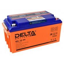 Аккумулятор герметичный свинцово-кислотный Delta GEL 12-65