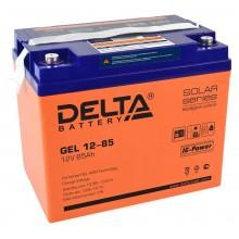 Аккумулятор герметичный свинцово-кислотный Delta GEL 12-85