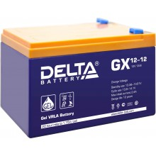 Аккумулятор герметичный свинцово-кислотный Delta GX 12-12