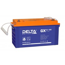 Аккумулятор герметичный свинцово-кислотный Delta GX 12-120