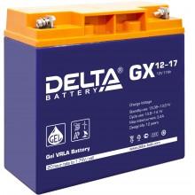 Аккумулятор герметичный свинцово-кислотный Delta GX 12-17