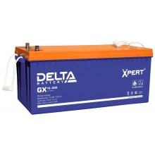 Аккумулятор герметичный свинцово-кислотный Delta GX 12-200 Xpert