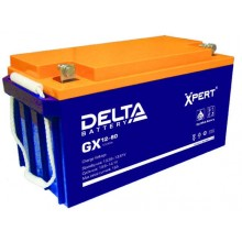 Аккумулятор герметичный свинцово-кислотный Delta GX 12-80 Xpert