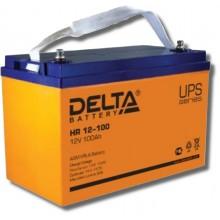 Аккумулятор герметичный свинцово-кислотный Delta HR 12-100