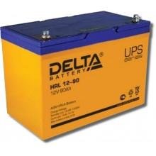 Аккумулятор герметичный свинцово-кислотный Delta HRL 12-90