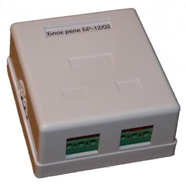 Блок реле для GSM сигнализации