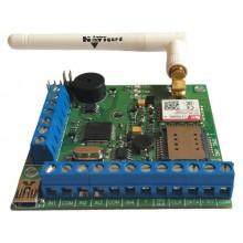 NV 206, охранная контрольная панель с GSM передатчиком NV 206