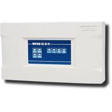 Устройство оконечное объектовое приемно-контрольное c GSM коммуникатором в корпусе на DIN-рейку Мираж-GE-iX-01