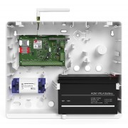 Панель охранная Контакт GSM-5A v.2 с внешней антенной в корпусе под АКБ 7 Ач