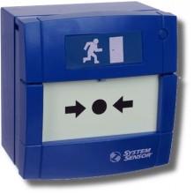 Элемент дистанционного управления электроконтактный УДП3A-B000SF-S214-01 (синий)