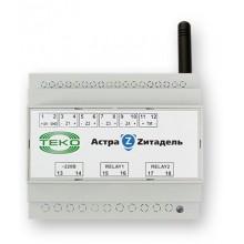 Блок релейный радиоканальный системы Астра-Zитадель на DIN-рейку Астра-Z-8245