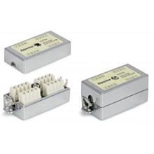 Проходной адаптер экранированный CA-IDC-C5e-SH-F-WH
