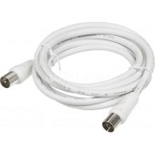 Шнур TV Шнур TV Plug - TV Plug 1,5м белый (18-0102)