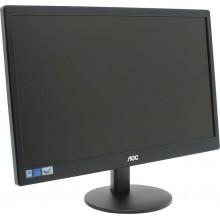 Монитор LCD 18,5'', 16:9, 1366х768 TN AOC E970SWN 18,5'' черный